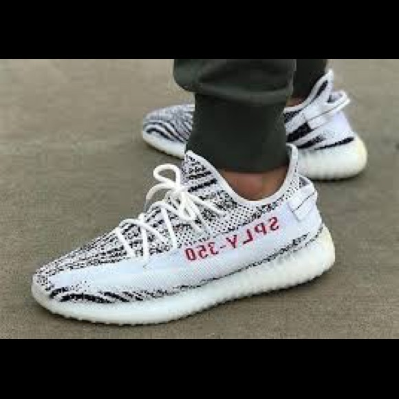 Adidas zapatos  mujer Yeezy Boost 350 V2 cebra talla 6 nuevo poshmark
